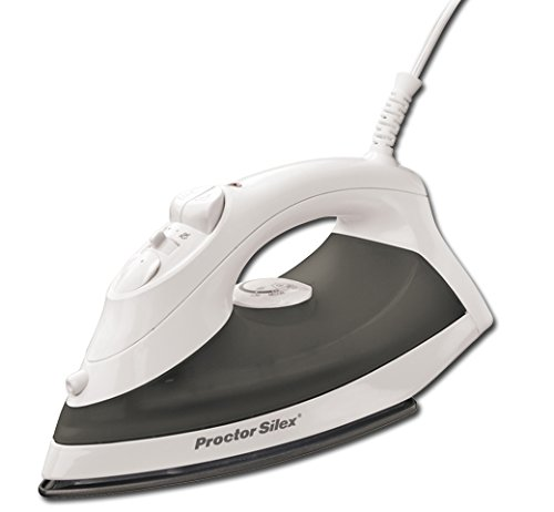 Proctor Silex Steam Iron with Nonstick Soleplate (17202)