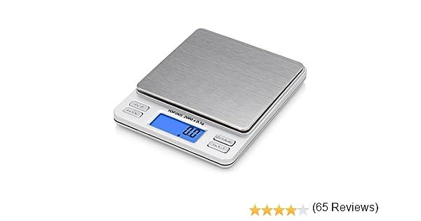 Smart Weigh TOP2KG Báscula Digital Pro Pocket con Pantalla de LCD con luz de fondo, función de bloqueo y capacidad de 2000 x 0.1g: Amazon.es: Oficina y ...