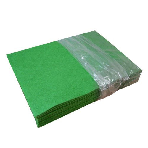 (Acrylic Craft Felt Packages (25pcs/pack), Apple Green )