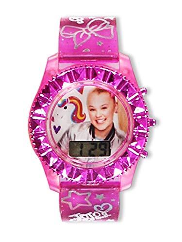 JoJo Siwa Flashing LCD Watch - Fuchsia, one Size