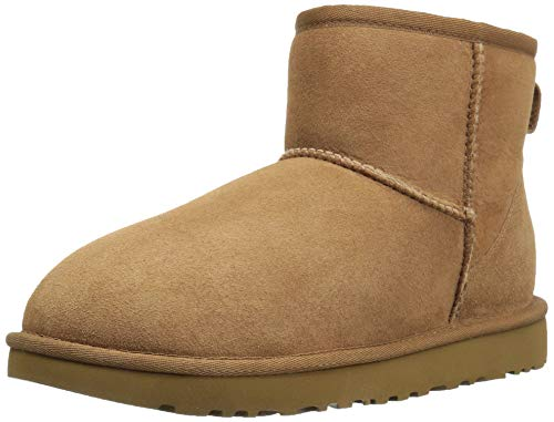 - UGG Women's Classic Mini II Winter Boot, Chestnut, 8 B US