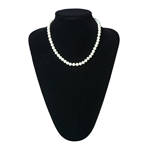 1920s Gatsby Faux Pearls Flapper Choker Necklace Wedding Beads Necklace 16