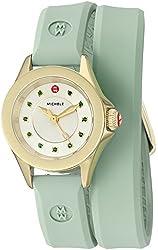 MICHELE Women's Cape Mini Quartz Stainless Steel Dress Watch (Model: MWW27B000002)