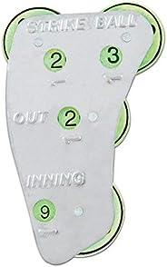 Champion Sports 4-Wheel Steel Umpire Indicator - Strikes, Balls, Outs, Innings
