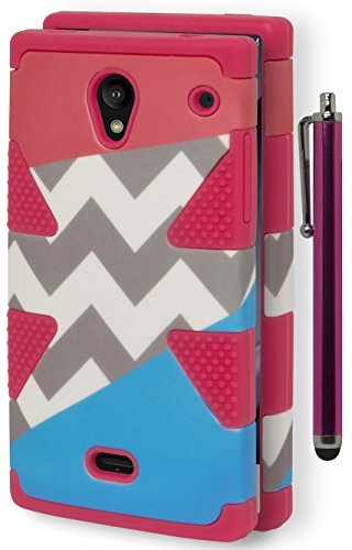 sharp aquos phone case chevron - 1