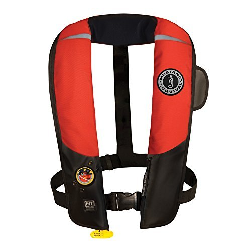 1 - Mustang HIT Inflatable Automatic PFD - Red/Black