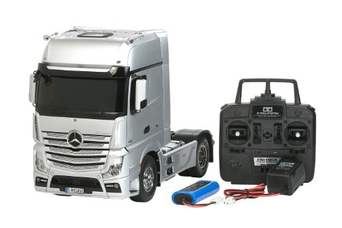 Big Rc Truck Series No.34 Mercedes-benz 1851 Los Act Giga Space Full Operation 56 334 Electric 1/14