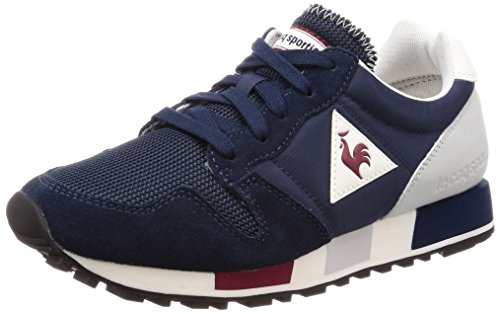 d42777949d1f Le Coq Sportif Mens Dress Blue Omega Nylon Sneakers-UK 11