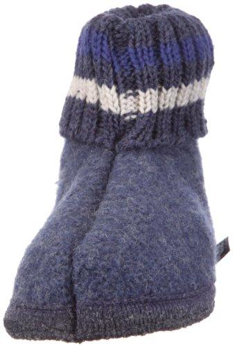 Paul 72 Unisex Blu Pantofola jeans Bambino Haflinger blau UH8wFxZHq