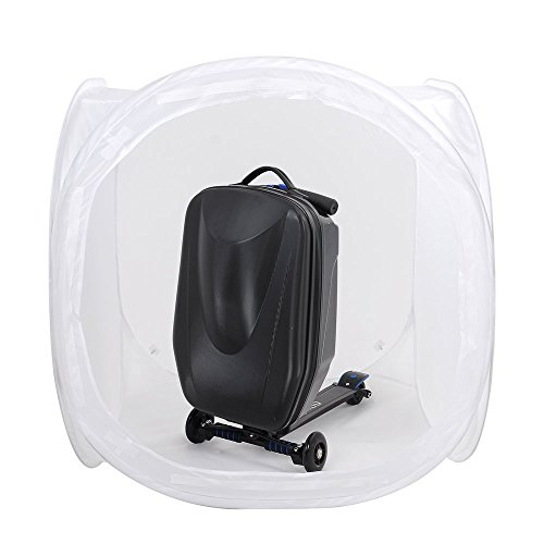 Big Times 36 in Reflector Daylight Photo Studio Light Box Tent Kit with Case Very Good Useful Tool for Photography 4 backdrops Black, White, Blue, red Portable Folding US Delivery
