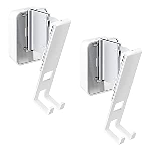Vogel's Speaker Wall Mount for SONOS Play - Sound 4201 W for Play 1, White (Double Pack)