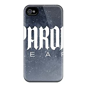 Protector Cell-phone Hard Cover For Iphone 4/4s With Customized High Resolution Papa Roach Pictures InesWeldon