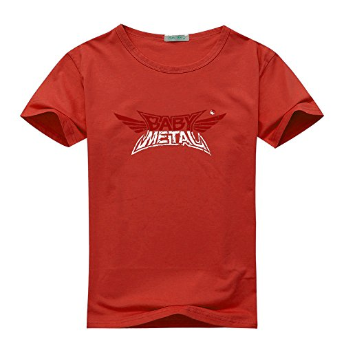 Price comparison product image Babymetal Funko POP For Women's Printed Short Sleeve Tee Tshirt Large Red
