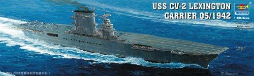 Trumpeter 1/350 USS Lexington CV2 Aircraft Carrier Model Kit