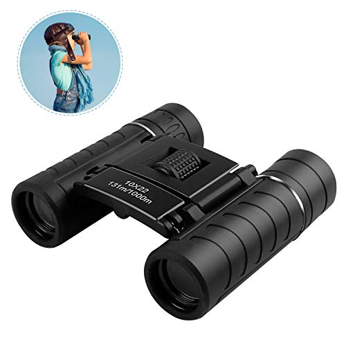 3-12 Year Old Boy Girl Gifts, 10 x 22 Mini Compact Lightweight Binoculars Outdoor Toys for Bird Watching Theater Hiking Hunting Travel Toys for 3 4 5 6-12 Year Old Boys Girls Xmas Gift