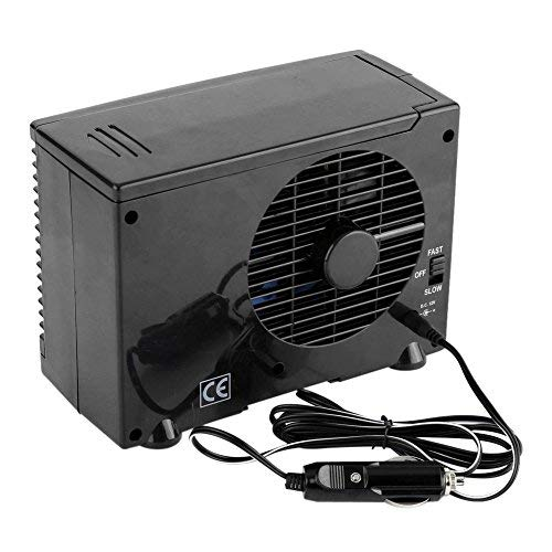 Portable 12V Car Truck Home Mini Air Conditioner Evaporative Water Cooler Cooling Fan