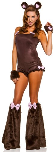 Sexy Teddy Bear Costumes - Sexy Cuddly Teddy Bear Costume