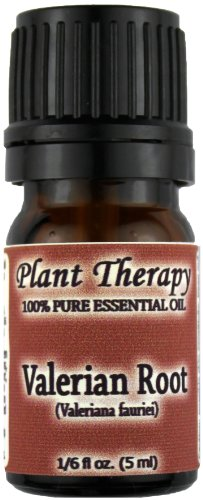 La racine de valériane Huile Essentielle. 5 ml (1/6 oz). 100% Pure, non dilué, qualité thérapeutique.