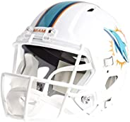 NFL Miami Dolphins Replica Full Size Speed Riddell Helmet, Team Colors, One Size
