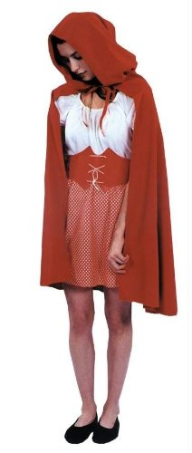 Morris Costumes - Red Riding Hood Cape - Standard