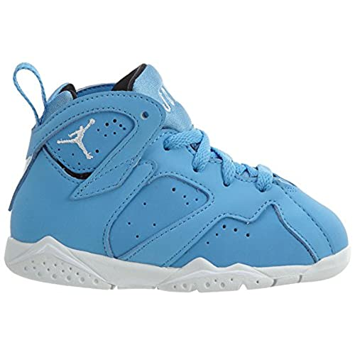 the best attitude bafc1 7a073 Nike Kids Jordan 7 Retro BT Blue/White/Black 304772-400 ...