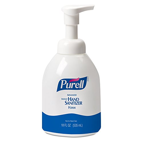 Hand Sanitizer 18 Oz Pump (PURELL 579204CT Advanced Non-Aerosol Foaming Hand Sanitizer, w/Moisturizers, 18oz Pump Bottle (Case of 4))