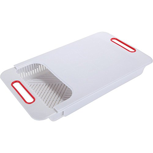 Home-X Over-the-Sink Cutting Board. Adjustable Cutting Board. (Sink Cutting Over Board)