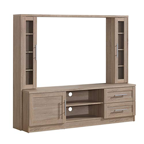 Techni Mobili Entertainment Center with Storage for TV s up to 50 , Sand