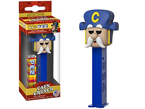 Pez Collectibles - Funko Pop! Pez: Quaker Oats - Cap'n Crunch (Styles May Vary)