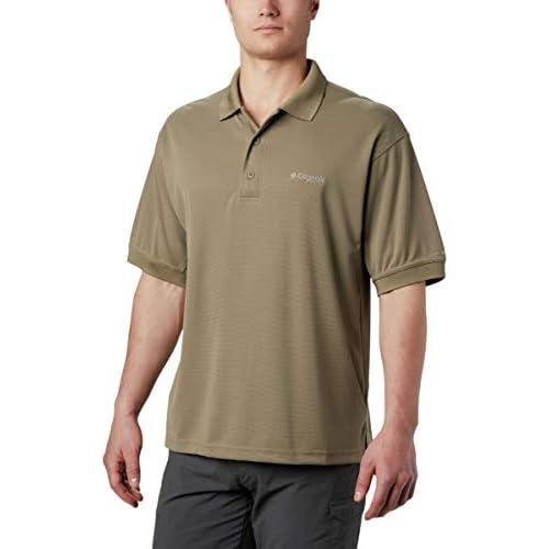 Columbia Men/'s Perfect Cast Polo Shirt Backcountry Orange X-Large