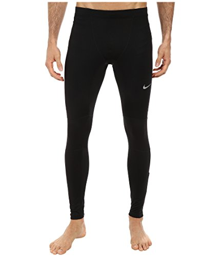 Nike Men's Dri-FIT Essential Running Tights Black/Reflective Silver Size X-Large by Nike (Image #3)