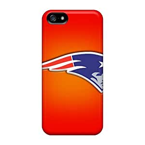 Hot Dax10005udcD New England Patriots Tpu Cases Covers Compatible With Iphone 5/5s