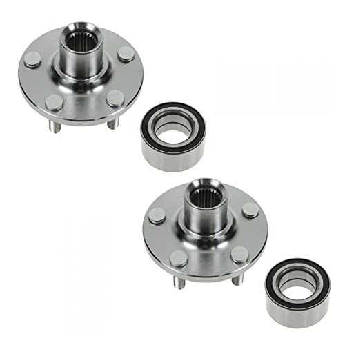 Dodge Neon Front Wheel - Wheel Hub & Bearing Front Left & Right Pair Set for Dodge Neon PT Cruiser 39mm
