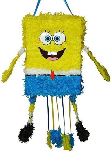 DISBACANAL Piñata Bob Esponja 3D: Amazon.es: Juguetes y juegos