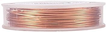 BENECREAT Kupferdraht, permanent eingefärbt, 20 Gauge (0,8 mm), 10 m ...