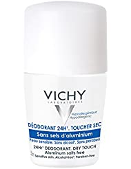 Vichy 24-Hour Dry-Touch Roll On Aluminum Free Deodorant and Salt Free