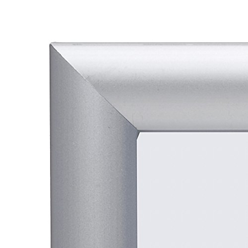 poster frame 12x36 inch silver snapezo 1quot aluminum