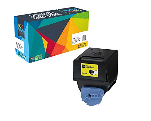 Do it Wiser Compatible Toner Cartridge Replacement for Canon GPR-23 ImageRunner C2880 C2550 C2550i C2880i C3080 C3080i C3380 C3380i C3480 C3480i C3580 C3580i Yellow