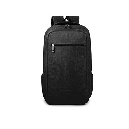 Price comparison product image Dailydollor Fashionable Business Travel Laptop Lightweight Rucksack Backpack(Black)