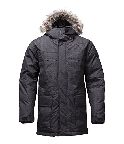 Mcmurdo Down Parka (The North Face Men's McMurdo Parka II TNF Black Croc Emboss (MDG))