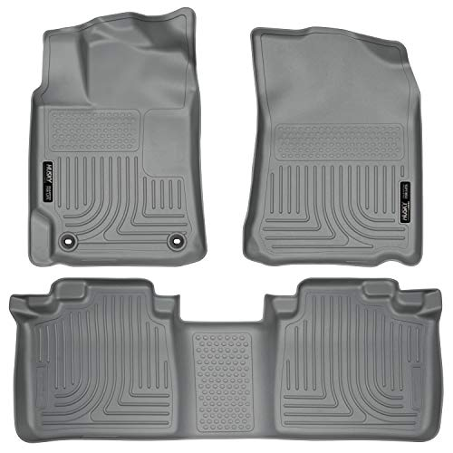 Husky Liners Fits 2012-2017 Toyota Camry Weatherbeater Front & 2nd Seat Floor Mats,Grey,98902