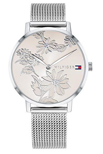 🥇 Tommy Hilfiger Reloj Analógico para Mujer de Cuarzo con Correa en Acero Inoxidable 1781920