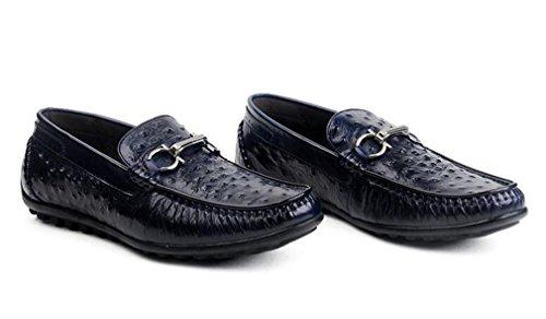 pour Bleu ville de homme Chaussures lacets Dilize à waH4ZqKU