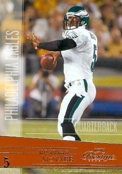 Donovan McNabb Football Card (Philadelphia Eagles) 2006 Playoff Prestige #114