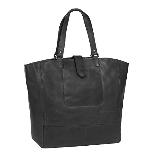 The Chesterfield Brand Oldham Shopper Borsa tote pelle 36 cm Nero