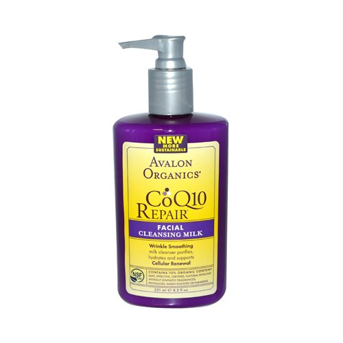 Avalon Organics CoQ10 Facial Cleansing Milk - 8.5 fl oz Avalon Organics Facial Cleansing Milk Lavender