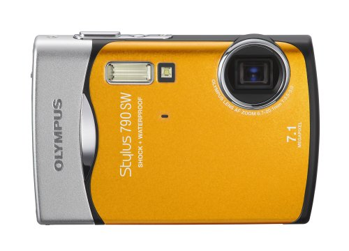 Amazon.com : Olympus Stylus 790SW 7.1MP Waterproof Digital Camera ...