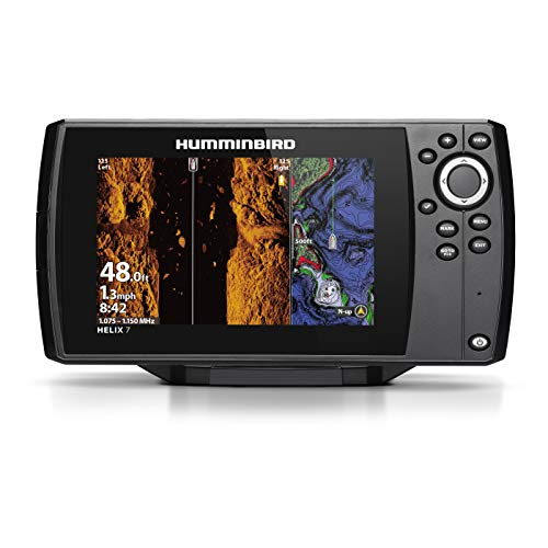 (Humminbird 410950-1NAV Helix 7 Fishfinder Chirp MSI GPS G3 with Navionics + Card.)