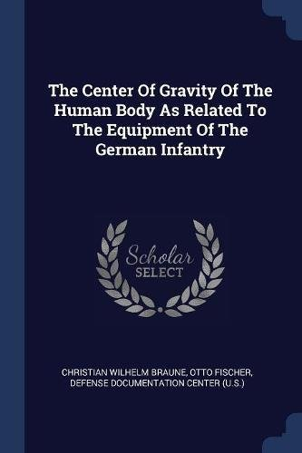 German Infantry Equipment - The Center Of Gravity Of The Human Body As Related To The Equipment Of The German Infantry