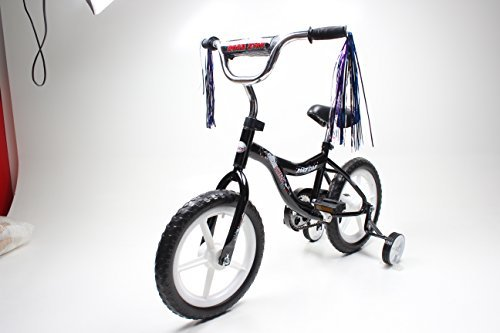 ChromeWheels 14 BMX Bike (Black) [並行輸入品] B072Z7MQ8N